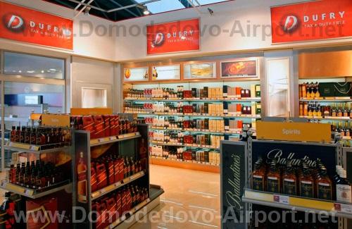 Магазин «DUFRY» в Домодедово